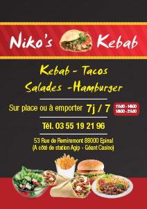 nikos kebab
